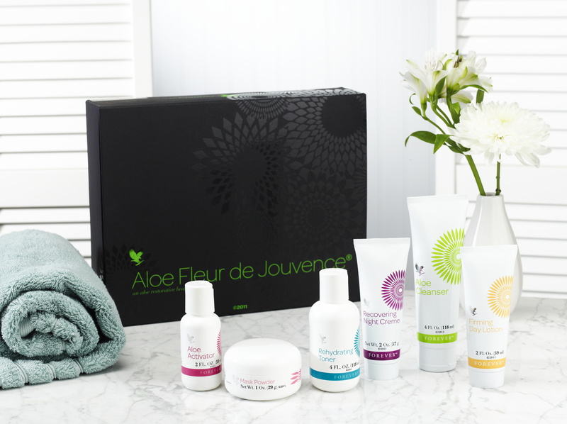 Coffret Aloe Fleur de Jouvence ©Forever Living Products.jpg