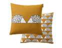 SCION LIVING SPIKE CARAMEL COUSSIN CARRE