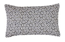 BLANC DES VOSGES MARGUERITE ANTHRACITE COUSSIN RECTANGLE