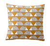 SCION LIVING SPIKE CARAMEL COUSSIN CARRE VERSO