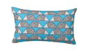 SCION LIVING SPIKE TURQUOISE VERSO COUSSIN RECTANGLE